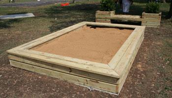 Designs For Playground Sandbox And Kitchen